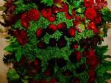 壁面装華/薔薇